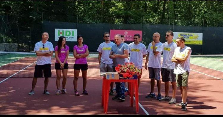 Campus estivo per il tennis club Monti della Tolfa