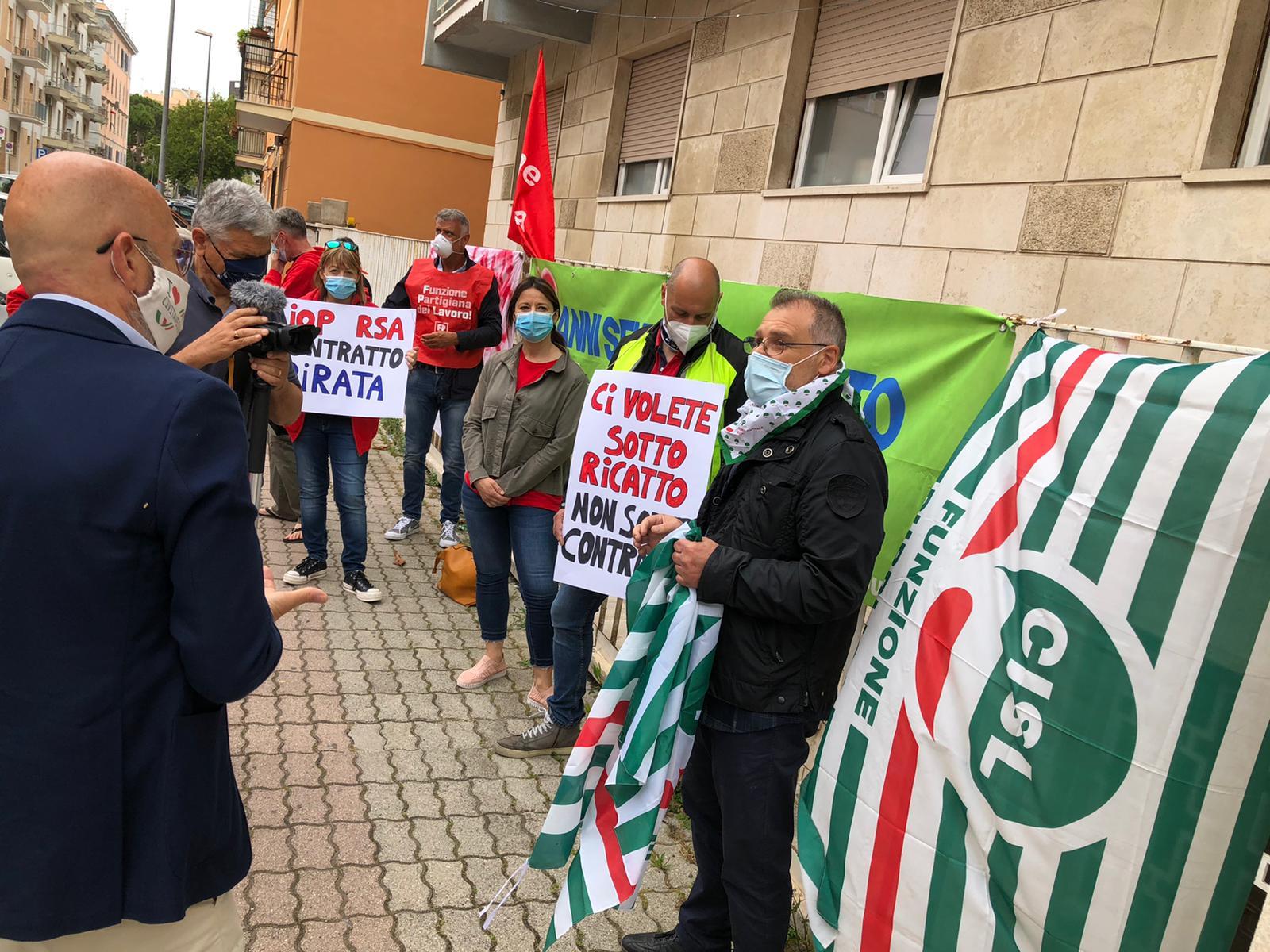 Sanità privata, lavoratori in stato d'agitazione  per il mancato rinnovo del contratto