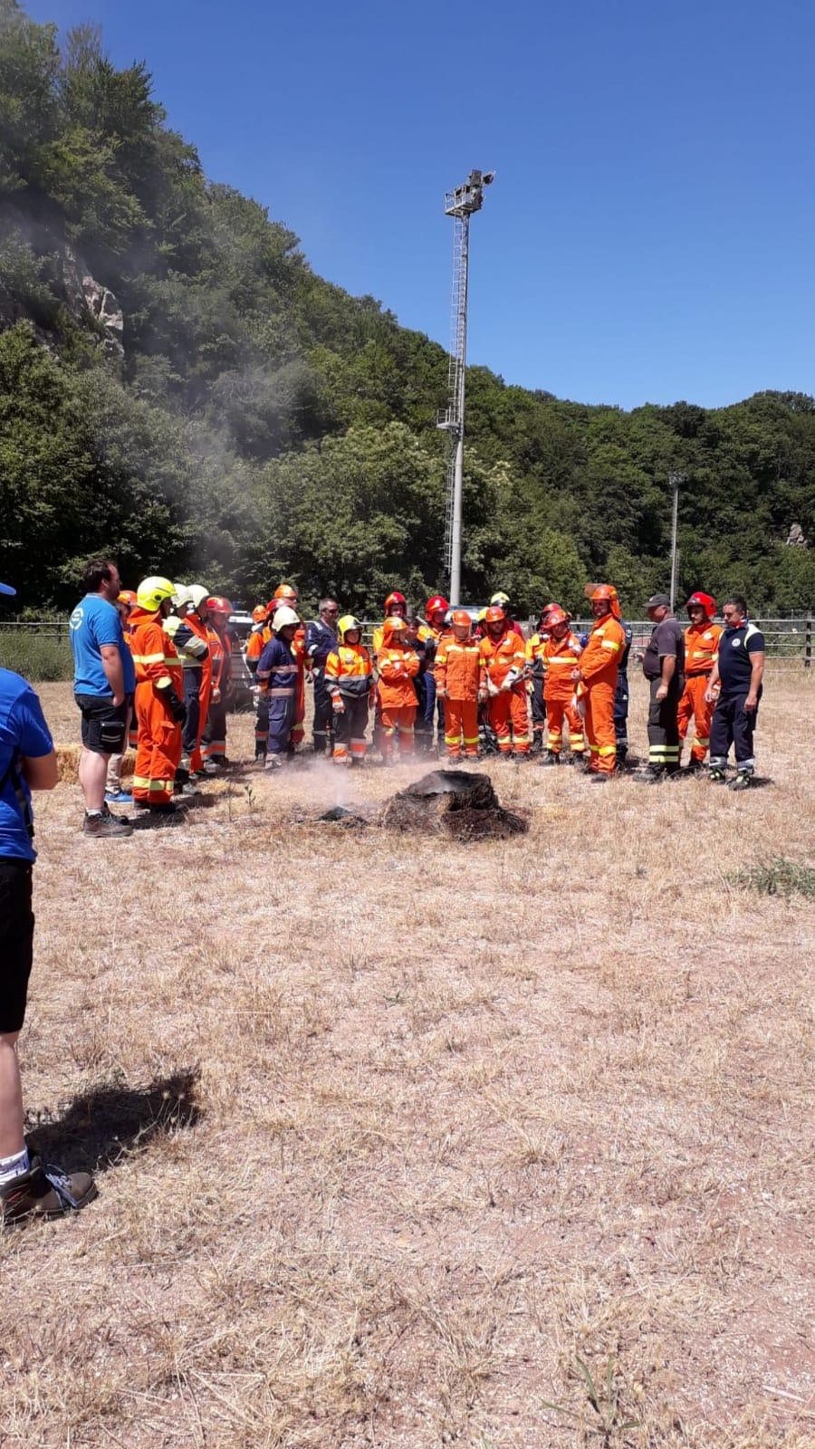 Grande partecipazione al corso Prociv antincendio organizzato alla Bianca