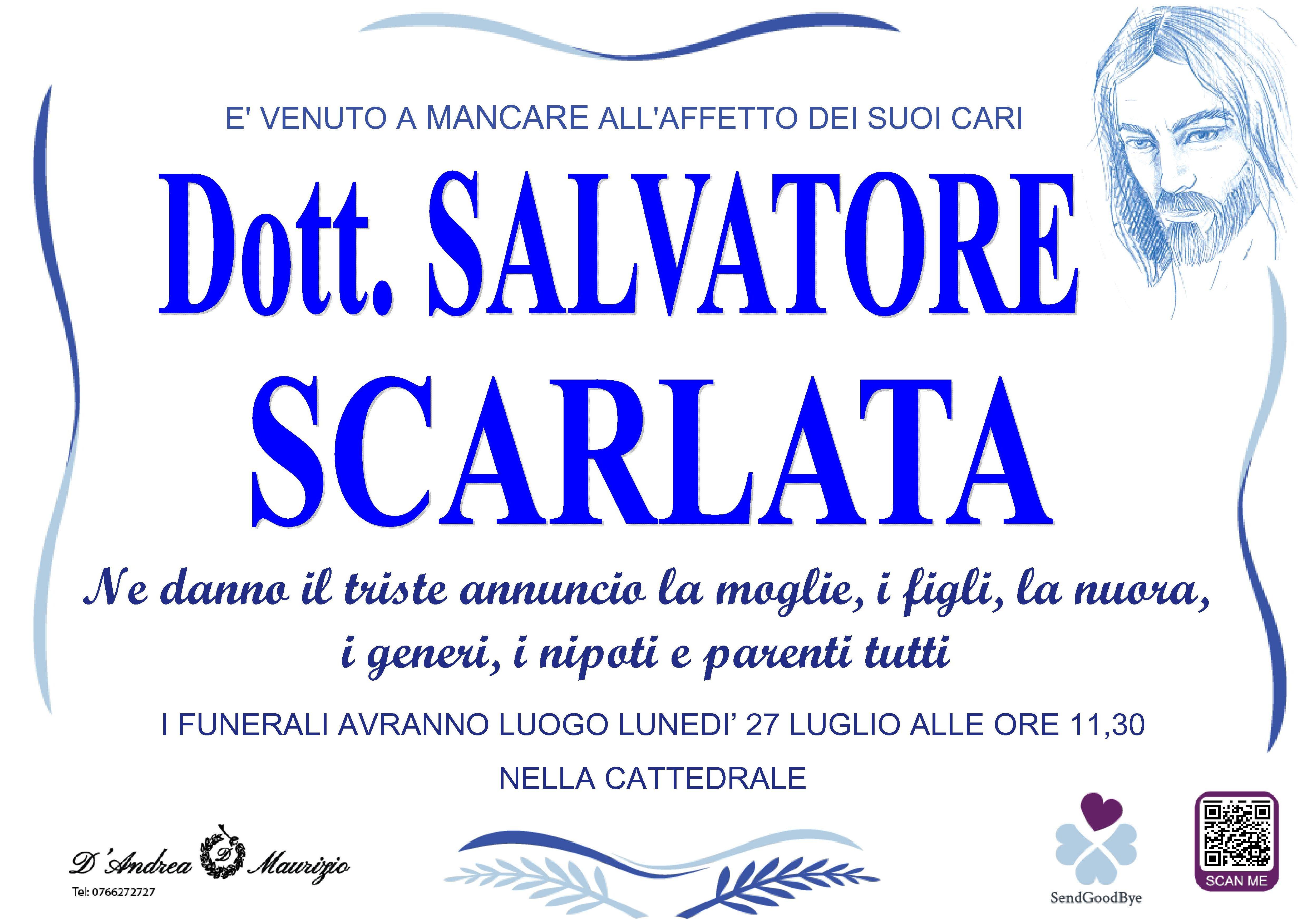 Dott. SALVATORE SCARLATA