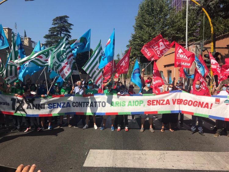 Sanità privata, anche Civitavecchia presente al sit-in romano