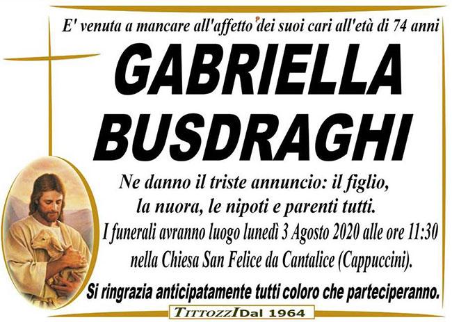 GABRIELLA BUSDRAGHI