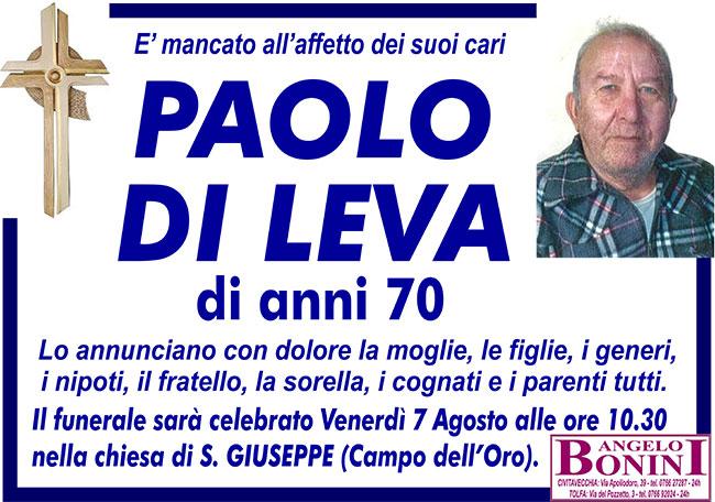 PAOLO DI LEVA
