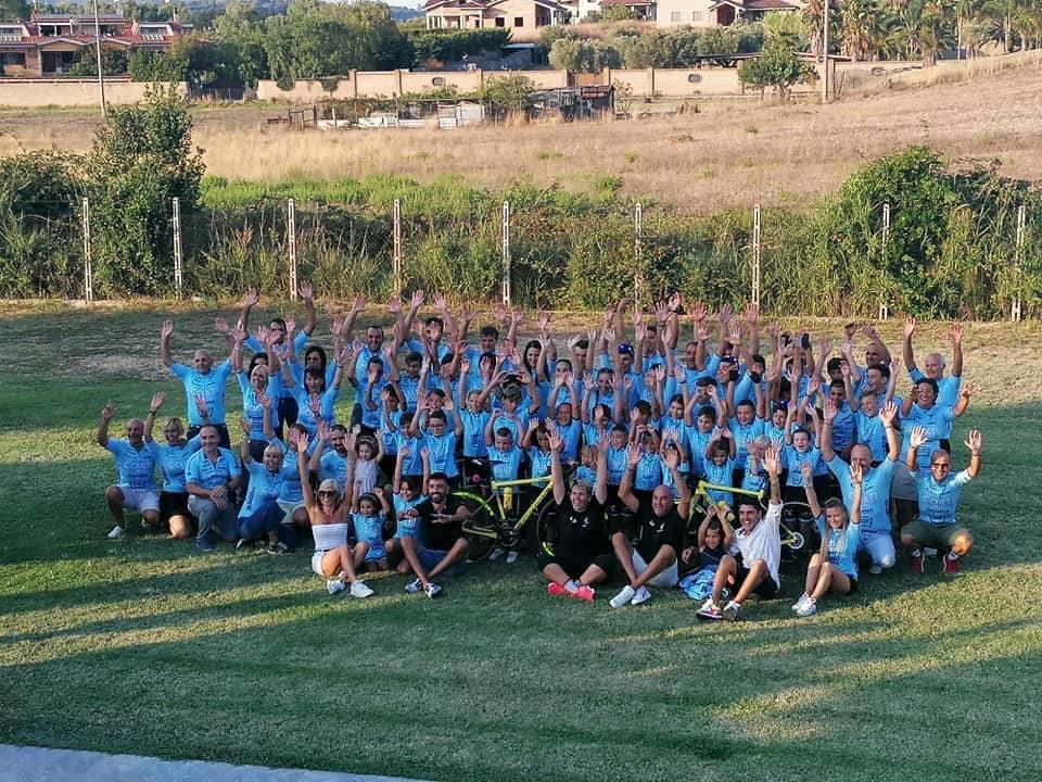 Le squadre del Team Bike Terenzi presentate a Villa Valentini a Ladispoli