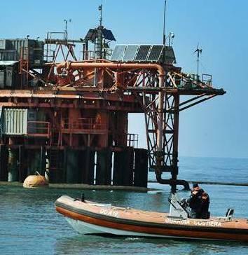 La Guardia costiera multa le imbarcazioni che     pescavano nei pressi delle piattaforme petrolifere