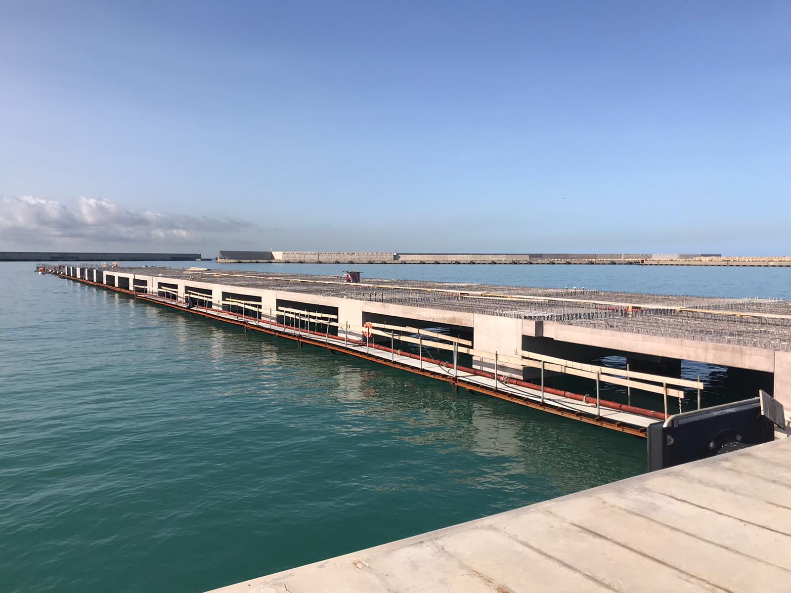 Autostrade del mare: in dirittura d'arrivo il nuovo pontile